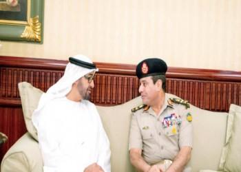 السفارة المصرية في أبوظبي تشكر الإمارات لدعمها المستمر للسيسي