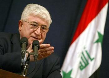 الرئيس العراقي يؤكد على أهمية مشاركة إيران في الحرب على داعش