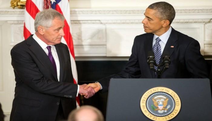 وراء الإطاحة بـ«هيغل».. توترات بسبب سوريا وفريق «أوباما»