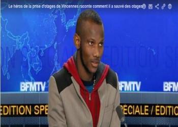 عامل مسلم أنقذ رهائن في المتجر اليهودي بباريس