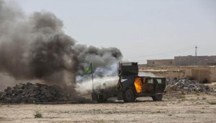 مقتل 4 جنود عراقيين على الحدود الأردنية في تفجير تبنته «الدولة الإسلامية»