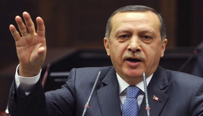 «أردوغان» يتهم الغرب بدعم «جماعات كردية إرهابية» في سوريا