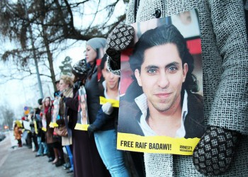 المدون السعودي «رائف بدوي» يفوز بجائزة «ساخاروف» الأوروبية لحرية الفكر