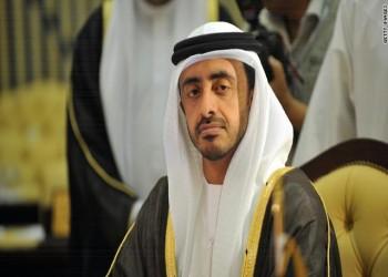 «عبدالله بن زايد»: «القرضاوي» حرض على العمليات الانتحارية وقت أن حرمها «بن باز»