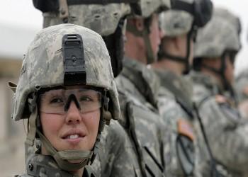 امرأة تقود قوات من المارينز لأول مرة بالولايات المتحدة