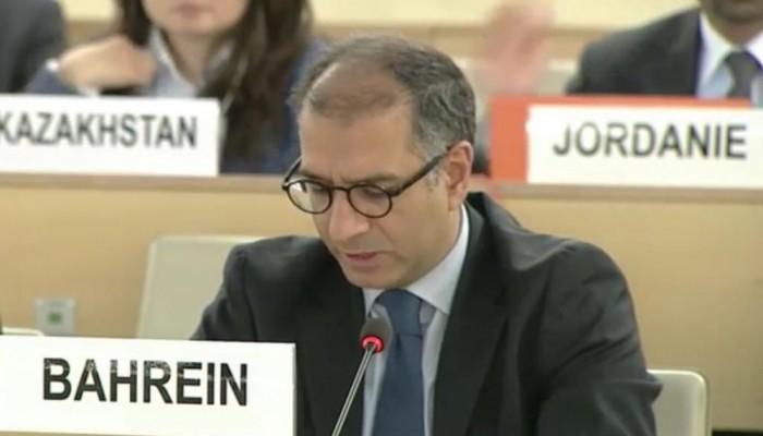 البحرين تستنكر تقرير «زيد بن رعد»: انحياز لجهات معادية