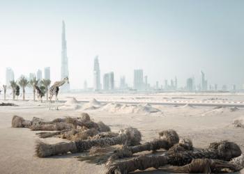 بالصور.. تسليط الضوء على العزلة الحضارية وتغير الحياة بالإمارات