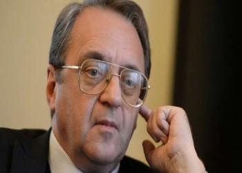 «بوغدانوف» يلتقي سفيري السعودية وقطر