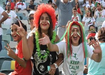 طهران تسمح للإيرانيات بمشاهدة مباراة إسبانيا في الأماكن العامة
