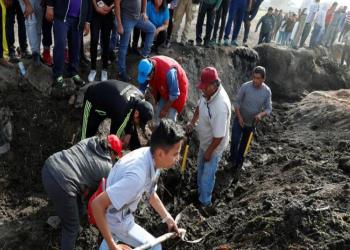 المكسيك.. ارتفاع قتلى انفجار خط الأنابيب إلى 85