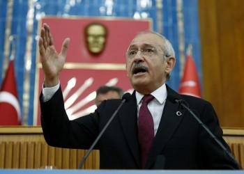 رئيس «الشعب الجمهوري» التركي يتعهد بحل مشاكل الشرق الأوسط