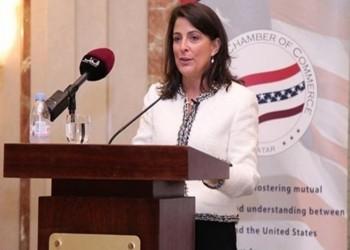 عقب قطع العلاقات.. سفيرة أمريكا لدى الدوحة تعيد نشر تغريدات داعمة لمواقف قطر