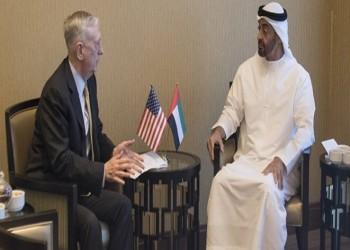 """""""بن زايد"""" و""""ماتيس"""" يبحثان في أبوظبي علاقات الصداقة والتعاون"""