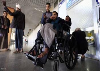 طائرة جرحى الحوثيين تقلع من صنعاء إلى مسقط