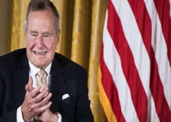 بعد اعتذاره.. ضحية ثالثة تزعم تحرش «بوش» الأب بها