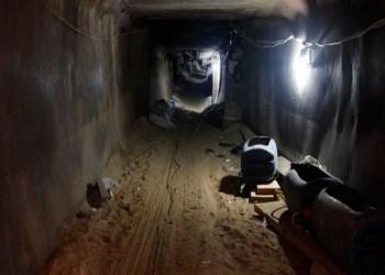 ارتفاع ضحايا القصف الإسرائيلي لنفق قرب غزة إلى 8 شهداء