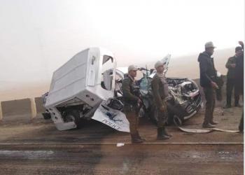 5 قتلى و19 مصابا في حادث مروع بمصر