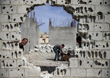 قصة عمال سوريين يصلحون بعضا مما يدمره «بشار وشركاؤوه»!