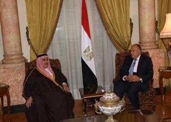 وزير الخارجية المصري يلتقي نظيريه البحريني والأردني بالقاهرة