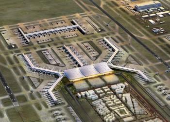 أذربيجان أولى رحلات المطار الثالث بإسطنبول فور افتتاحه