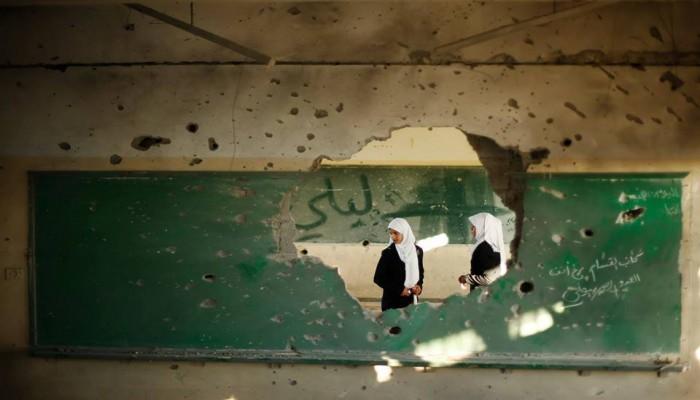 قطر تتبرع بـ 4.6 مليون دولار لصيانة وإصلاح 43 مدرسة في غزة