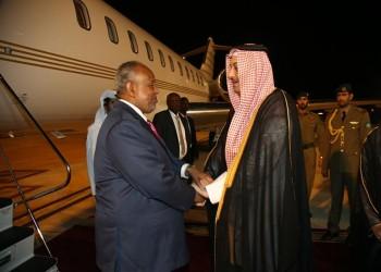 أمير قطر يستقبل الرئيس الجيبوتي ويعقد معه جلسة مباحثات رسمية