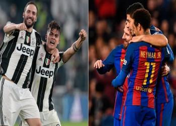 أرقام «يوفنتوس» × «برشلونة».. صلابة الدفاع في مواجهة شراسة الهجوم