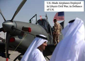 «التايم»: صور الأقمار الصناعية تظهر 6 مقاتلات إماراتية في قاعدة جوية شرقي ليبيا