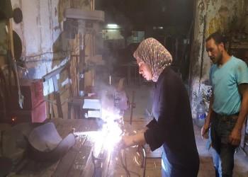 «مها صبري» .. فتاة سكندرية تعمل في الحدادة منذ أكثر من 16 سنة
