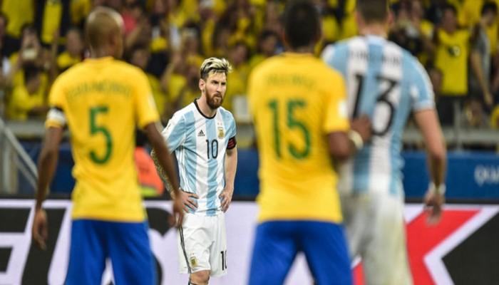 «ميسي» و«نيمار» يجهزان السعودية لـ«مونديال 2018»