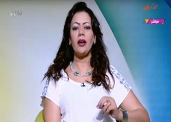 إعلامية مصرية تدعي تغيير مسار إعصار إرما