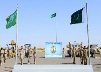 قوات سعودية باكستانية تواصل مناورات «كاسح 1»