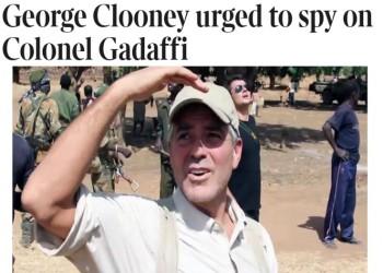 «الجنائية الدولية» حاولت تجنيد «كلوني» للإيقاع بـ«القذافي».. فهل نجحت؟