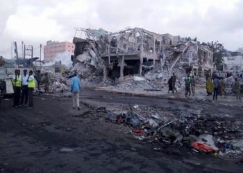 ارتفاع ضحايا تفجير مقديشو إلى 400 شخص