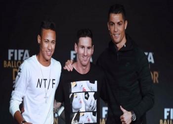 «رونالدو» و«ميسي» و«نيمار».. من يستحق جائزة «الأفضل»؟