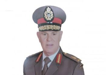 رئيس الأركان المصري الجديد في أول ظهور بعرض عسكري