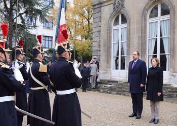 وزير الدفاع القطري يبحث مع نظيرته الفرنسية التعاون العسكري