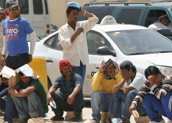 خروج نصف مليون وافد من سوق العمل السعودية في 2017