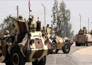 الجيش المصري يدفع بتعزيزات عسكرية لاستكمال تجريف «رفح»