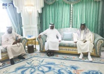 صورة.. رئيس الإمارات يظهر علنا للمرة الثانية خلال 4 أعوام