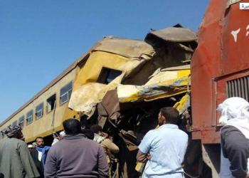 استدعاء مسؤولين مصريين للتحقيق بحادث تصادم قطاري البحيرة