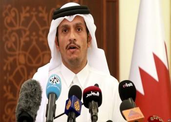 وزير خارجية قطر يصل إلى القاهرة لحضور اجتماعات الجامعة العربية