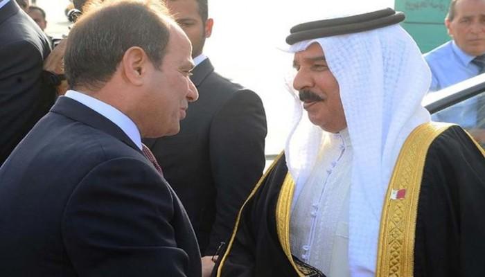 ملك البحرين: لو كان لي صوت انتخابي لمنحته لـ«السيسي»
