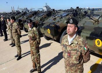 إيطاليا تنفي نيتها القيام بعملية عسكرية في ليبيا