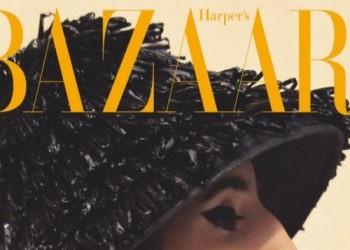 عارضة أزياء سعودية تتصدر غلاف مجلة أمريكية