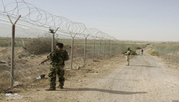 سياج أمني وأبراج مراقبة على الحدود العراقية السورية