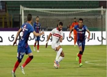 الزمالك يسقط في فخ التعادل أمام بتروجيت بافتتاح الدوري المصري
