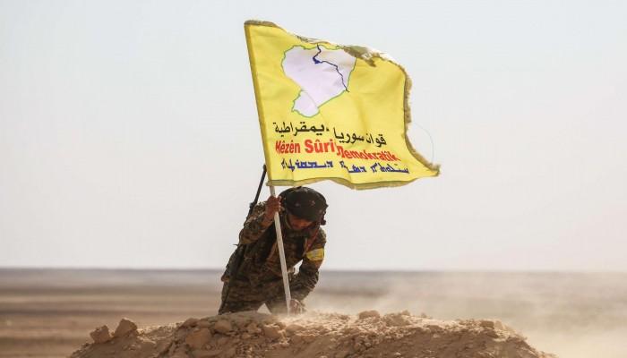 """""""سوريا الديمقراطية"""" تسيطر على الحدود مع العراق شرق الفرات"""