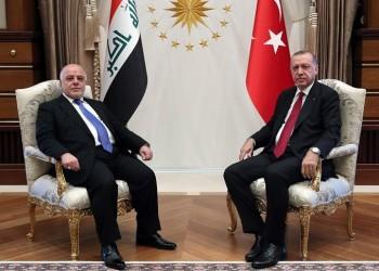 """""""العبادي"""" يبحث مع """"أردوغان"""" قضايا الأمن والمياه"""