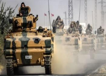 تركيا تعزز تواجدها شمال حماة بـ 30 آلية عسكرية